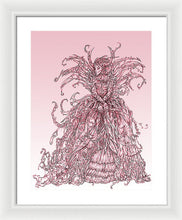 Load image into Gallery viewer, Pink Brambles - Framed Print