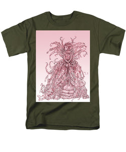 Pink Brambles - Men's T-Shirt  (Regular Fit)