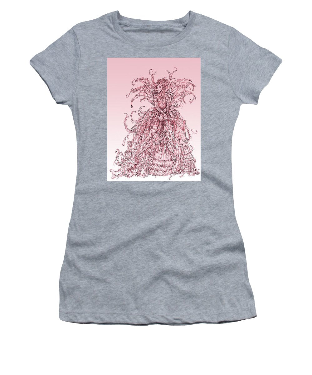 Pink Brambles - Women's T-Shirt (Athletic Fit)