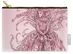 Pink Brambles - Carry-All Pouch