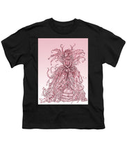 Load image into Gallery viewer, Pink Brambles - Youth T-Shirt