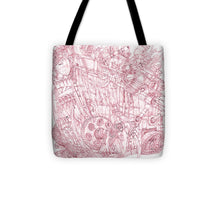 Load image into Gallery viewer, Pink Rumble Tank - Tote Bag