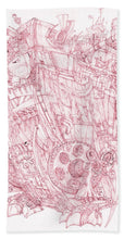 Load image into Gallery viewer, Pink Rumble Tank - Beach Towel