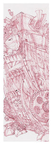 Pink Rumble Tank - Yoga Mat