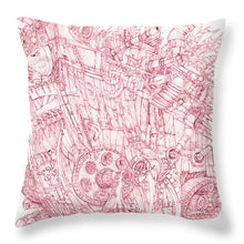 Load image into Gallery viewer, Pink Rumble Tank - Throw Pillow