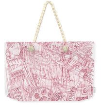 Load image into Gallery viewer, Pink Rumble Tank - Weekender Tote Bag