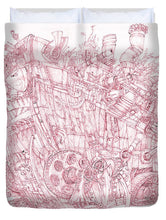 Load image into Gallery viewer, Pink Rumble Tank - Duvet Cover