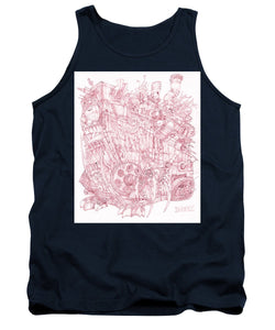 Pink Rumble Tank - Tank Top