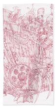 Load image into Gallery viewer, Pink Rumble Tank - Bath Towel