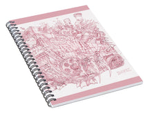 Load image into Gallery viewer, Pink Rumble Tank - Spiral Notebook