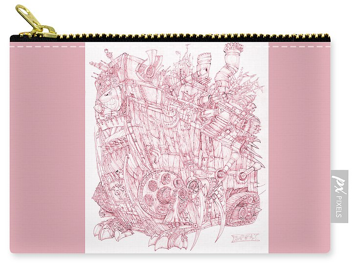 Pink Rumble Tank - Carry-All Pouch
