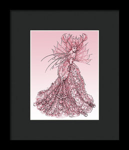 Pink Sussurus - Framed Print