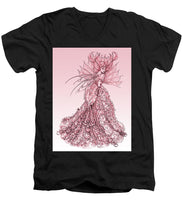 Load image into Gallery viewer, Pink Sussurus - Men's V-Neck T-Shirt