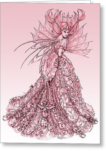 Pink Sussurus - Greeting Card