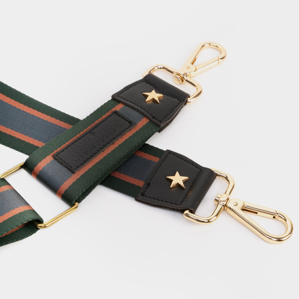 Tracolla Navy Verde - Marks&Angels by Alessia Marcuzzi