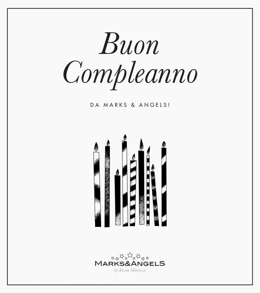 Buon Compleanno - Marks&Angels by Alessia Marcuzzi