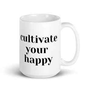 Cultivate Happy Mug