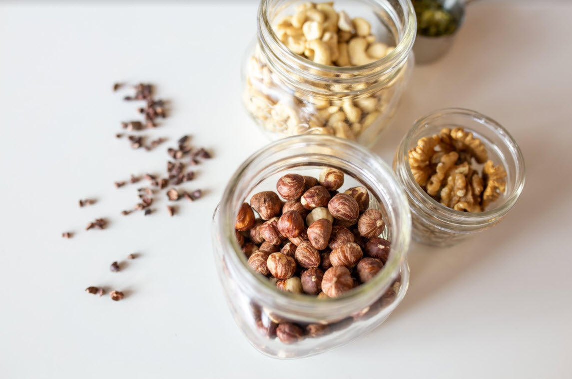 raw vegan sprouted nuts