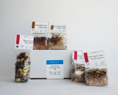 Superfood gluten free sprouted overnight oat kit by Nussli118.