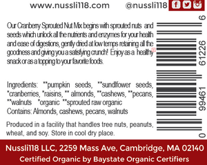 Sprouted Mixed Nuts - Buy one, get one 50% off