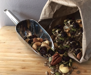 Organic Sprouted Nut Mix Cashews Walnuts Almonds Pumpkin Seeds Sunflower Raisins Cranberries