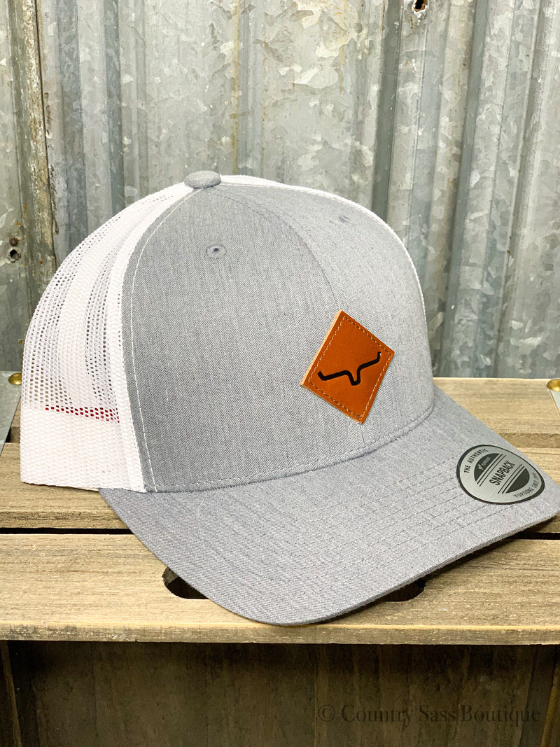 Kimes Grey Diamond Patch Hat