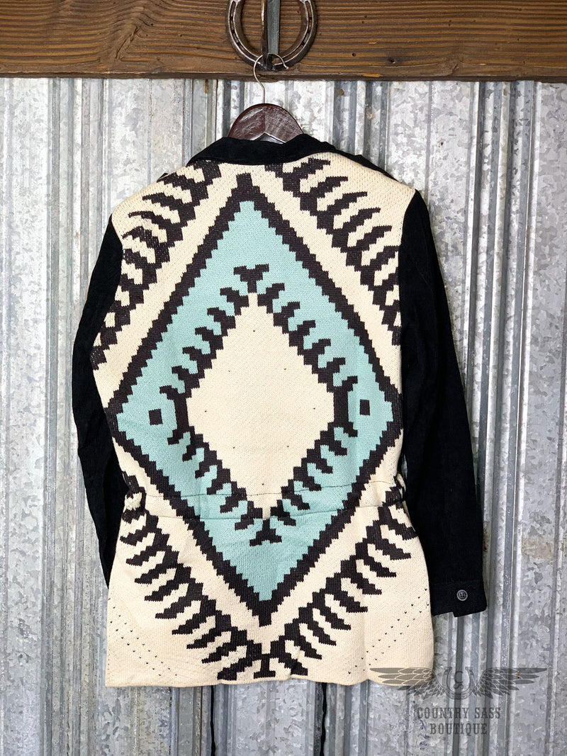 Black Aztec Jacket