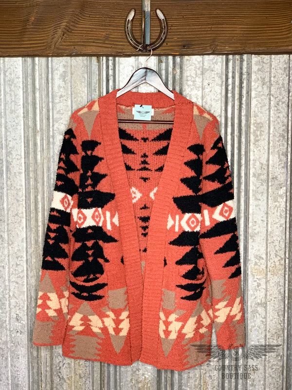 Kenna Aztec Sweater Cardigan