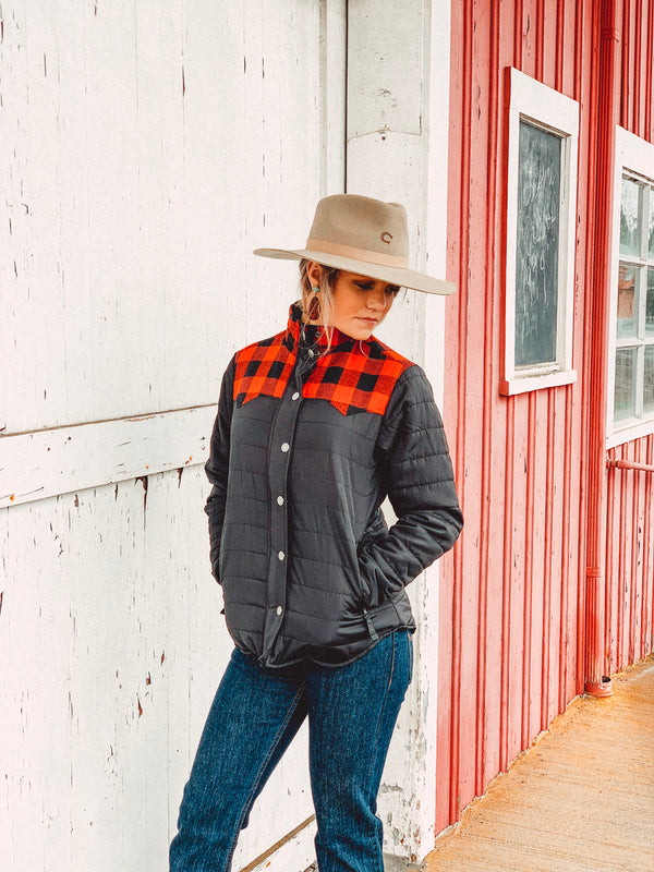 River Buffalo Check Jacket