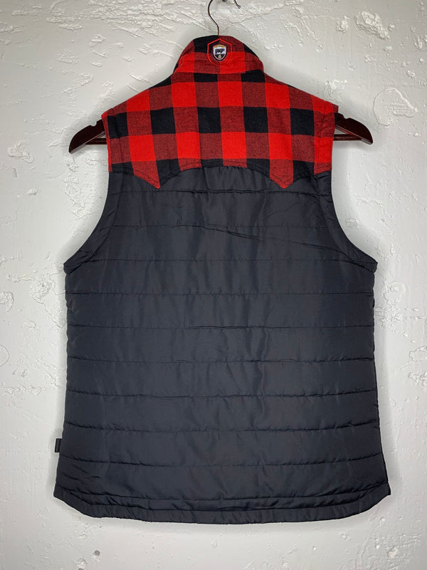 River Buffalo Check Vest