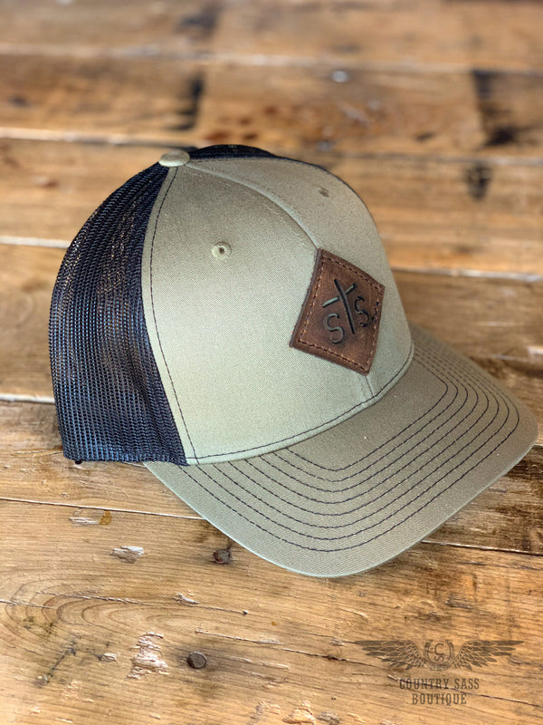 STS Loden Leather Patch Hat