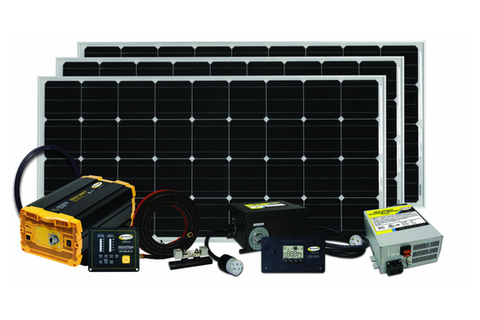 Go Power Solar Kit from Tiny Life Supply