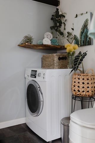 Laundry Area in the Maui Tiny Home
