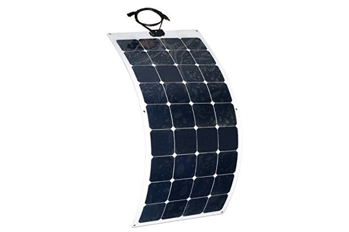 Aleko 50W Semi Flexible 12V Solar Panel - tinylifesupply.com