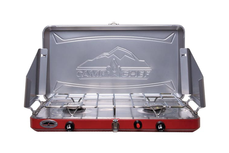 Camp Chef Teton Two Burner Stove - tinylifesupply.com