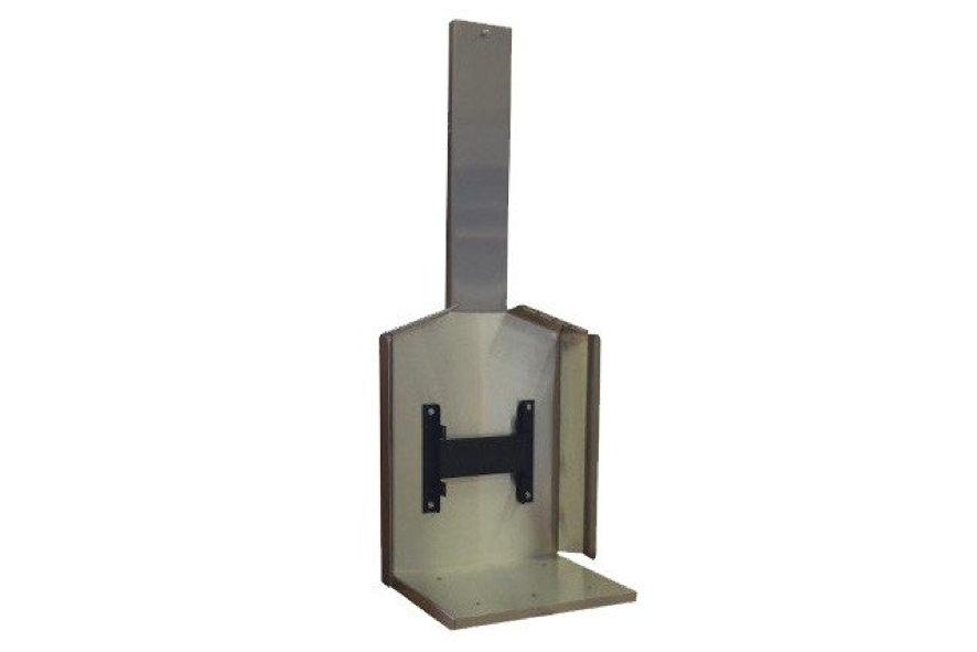 Cubic Stainless Steel Wall Mount - tinylifesupply.com