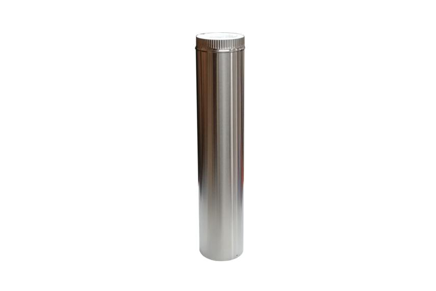 "Cubic 24"" Insulated Stainless Steel Flue Pipe"