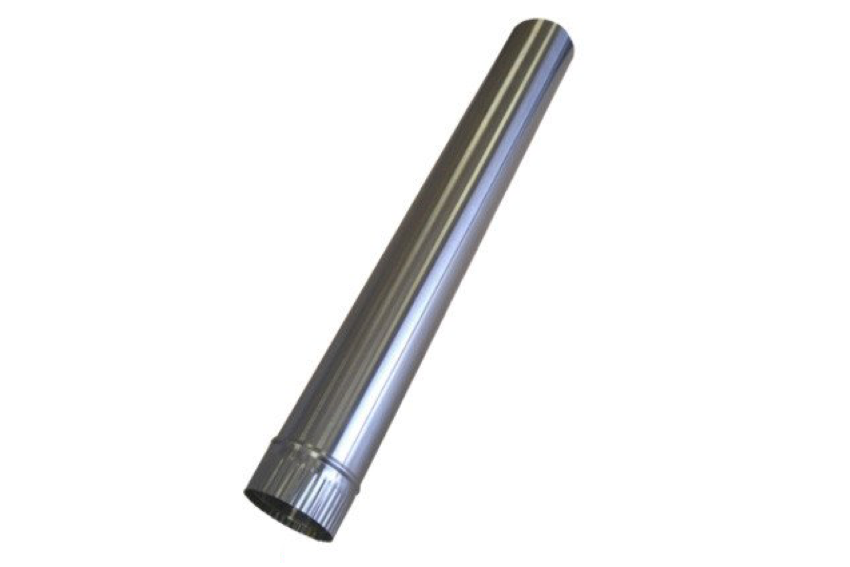 "Cubic 24"" Stainless Steel Double Wall Flue Pipe for Cub and Grizzly - tinylifesupply.com"