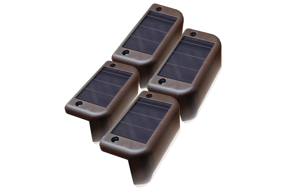 Maxsa Solar LED Deck Lights (Pack of 4)