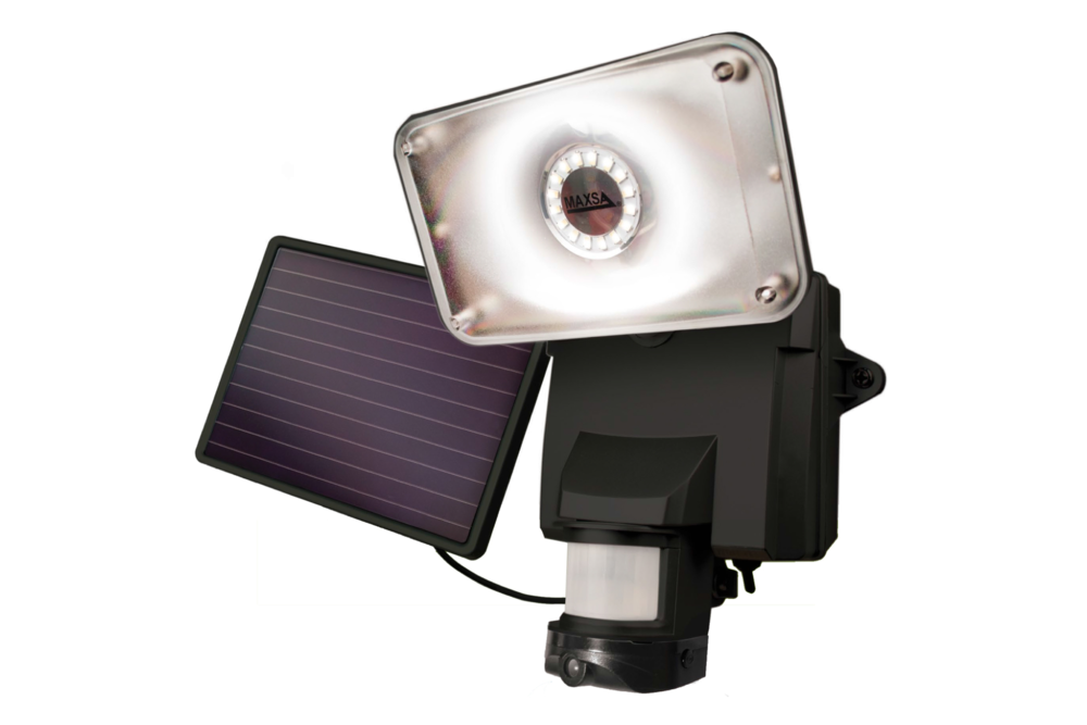 Maxsa Solar Security Camera and Floodlight