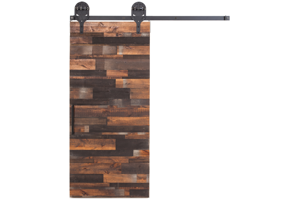 Rustica Hardware Interior Reclaimed Wood Sliding Door
