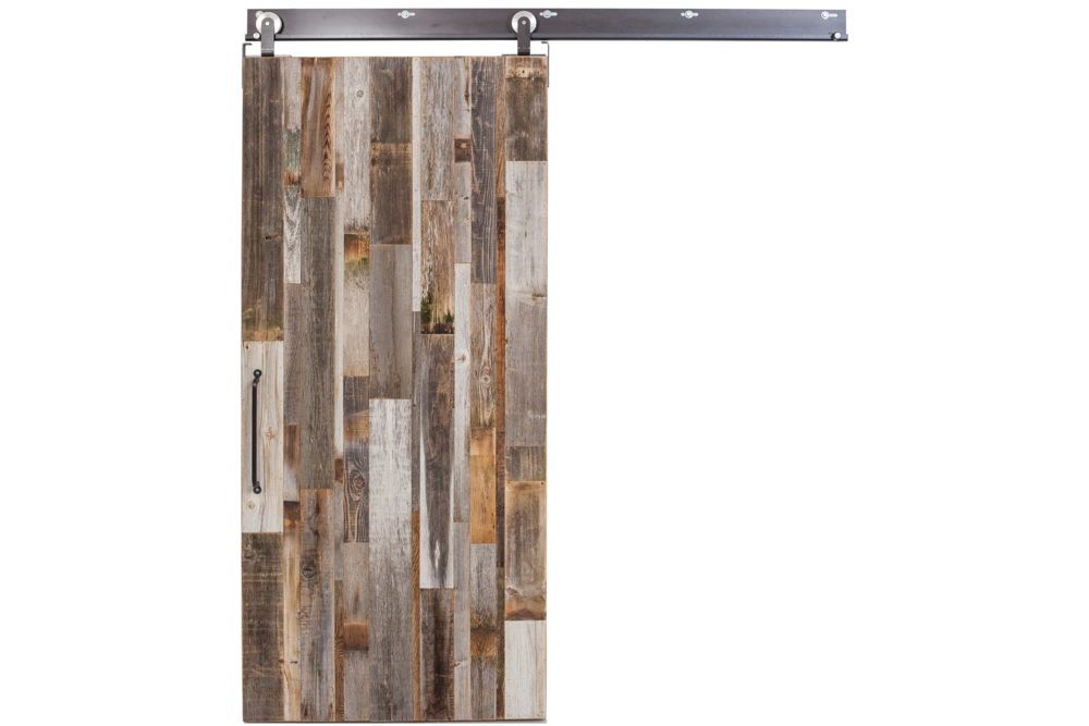 Rustica Hardware Interior Barn Wood Reclaimed Sliding Door