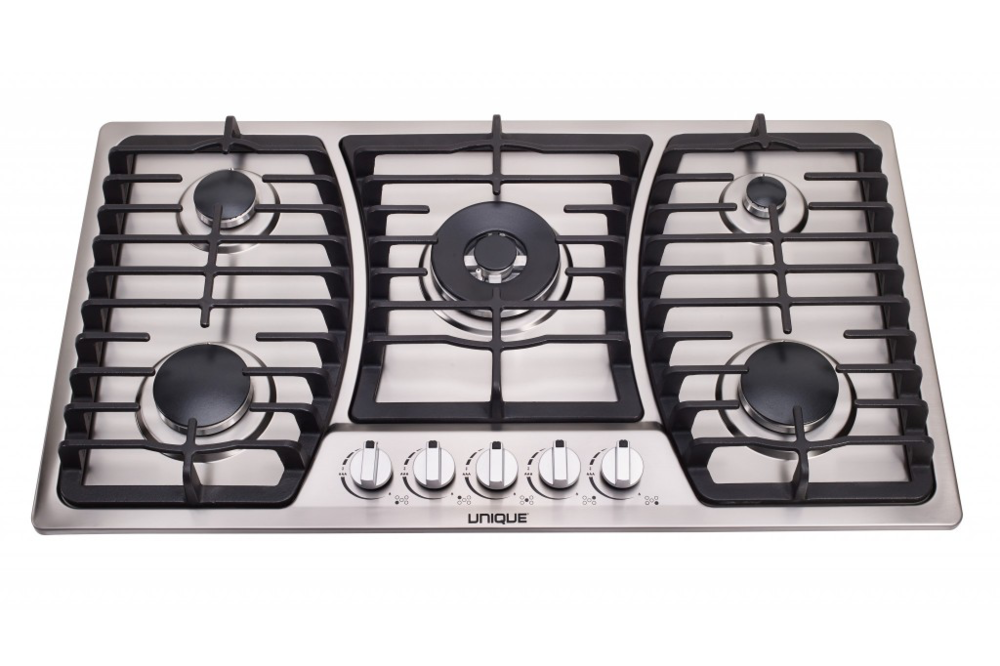 "Unique 36"" Gas Cooktop - tinylifesupply.com"