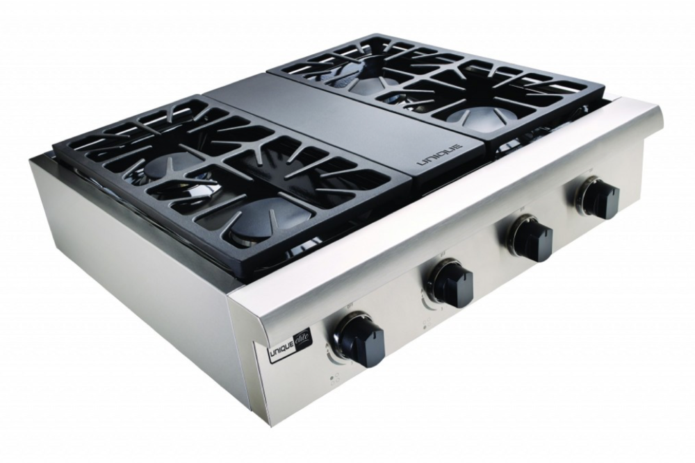 "Unique Elite 30"" Gas Rangetop - tinylifesupply.com"