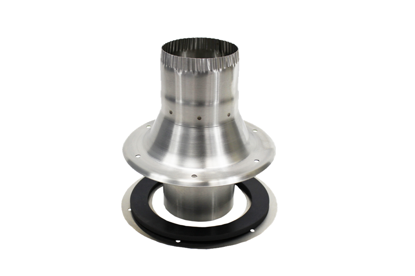 Dickinson Marine Stainless Steel Deck Fitting, Gasket & Dress Ring - tinylifesupply.com
