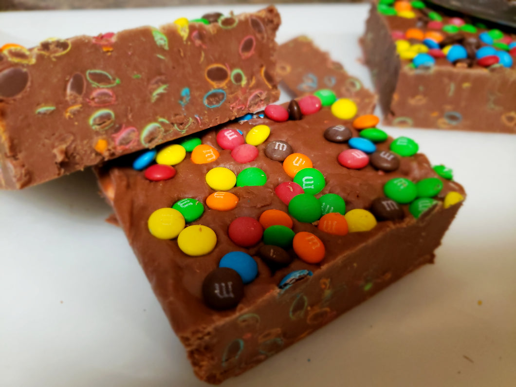 Chocolate with M&M's