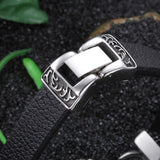 Motorcycle Leather Bracelet