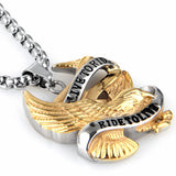 Live To Ride, Ride To Live Necklace