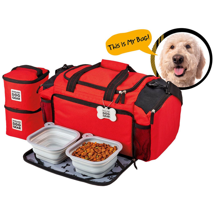 Overland Dog Gear Ultimate WeekAway Duffle Bag For Medium / Large Dogs