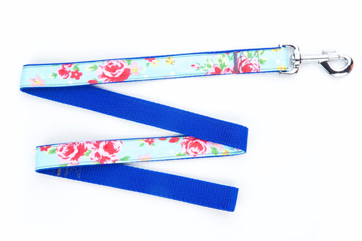 Blue Vintage Dog Lead - Pet Pooch Boutique - My Pet Gift Box